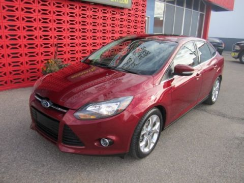 Certified Pre-Owned 2014 Ford Focus Titanium