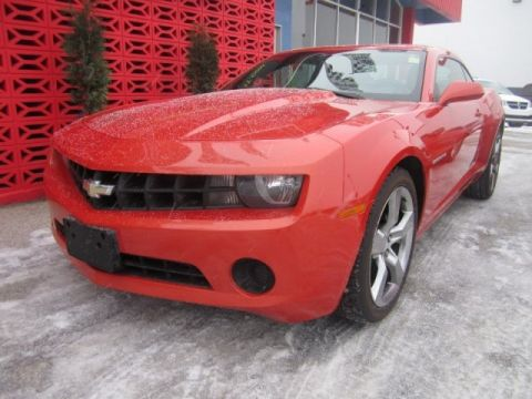 Certified Pre-Owned 2011 Chevrolet Camaro 2LS